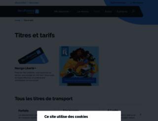 navigo.fr screenshot
