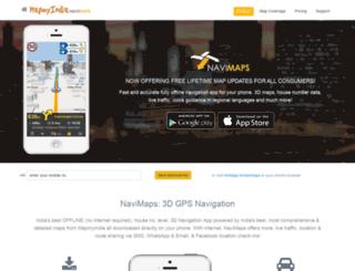navimaps.mapmyindia.com screenshot