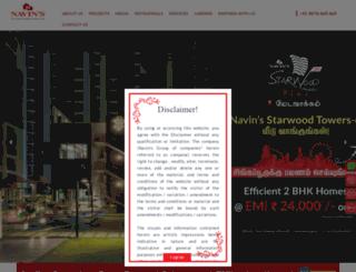 navinhousing.com screenshot