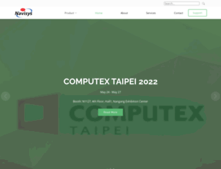 navisys.com.tw screenshot