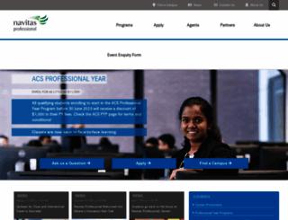 navitas-professional.edu.au screenshot