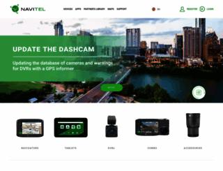 navitel.cz screenshot