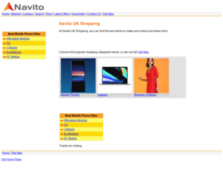 navito.co.uk screenshot