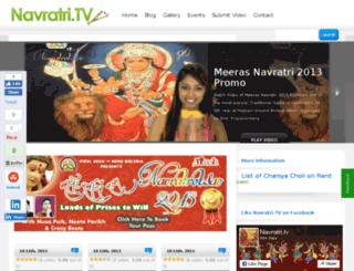 navratri.tv screenshot