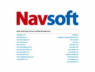 navsoft.co.in screenshot