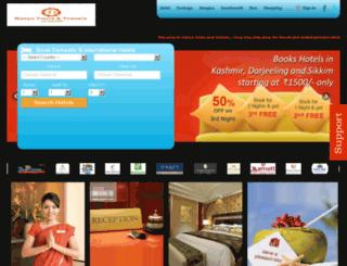 navyatoursandtravels.com screenshot