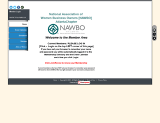nawbo.clubexpress.com screenshot