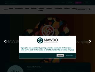 nawbo.org screenshot