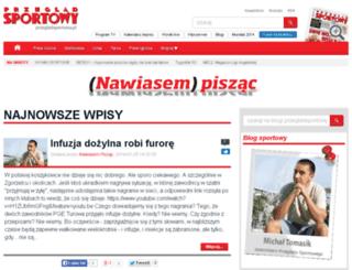 nawiasem-piszac.przegladsportowy.pl screenshot