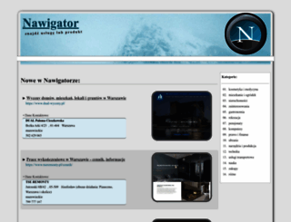 nawigator.edu.pl screenshot