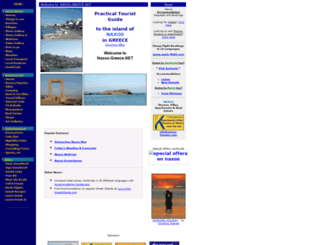 naxos-greece.net screenshot