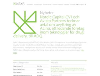 naxs.se screenshot