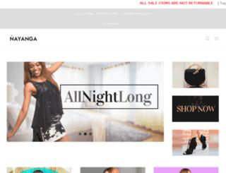 nayanga.com screenshot