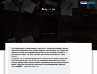 nayna.in screenshot
