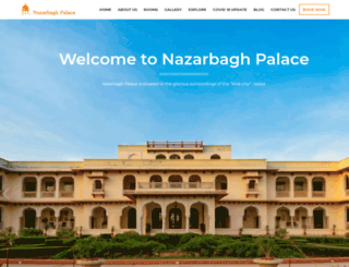nazarbagh.com screenshot