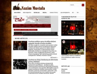 nazimmustafa.info screenshot