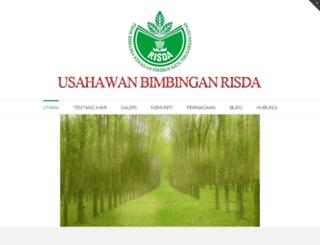 nazoha.usahawanrisda.com screenshot