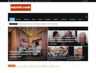 nazret.com screenshot