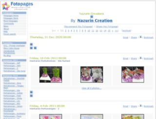 nazruincreation.fotopages.com screenshot