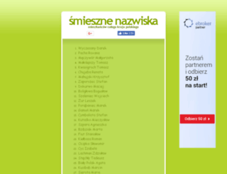 nazwiska.friko.pl screenshot
