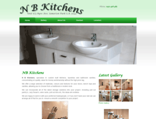 nb-kitchens.com screenshot