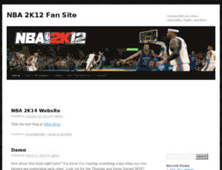 nba-2k12.com screenshot