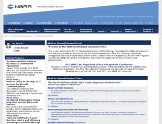 nbaa.peachnewmedia.com screenshot