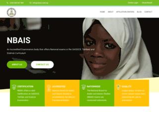 nbais.com.ng screenshot