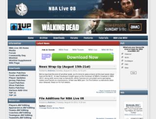 nbalive08.nba-live.com screenshot