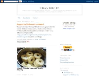 nbandroid.org screenshot