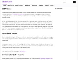 nbatipps.com screenshot