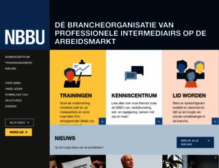 nbbu.nl screenshot