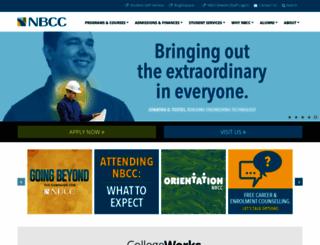 nbcc.ca screenshot
