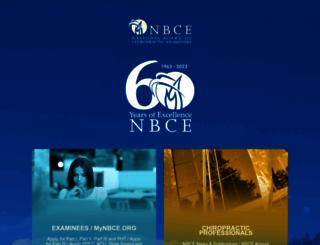 nbce.org screenshot
