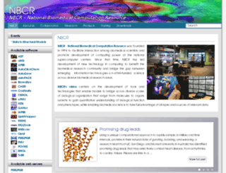 nbcr.sdsc.edu screenshot