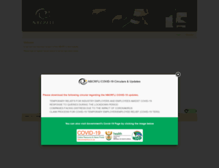 nbcrfionline.org.za screenshot