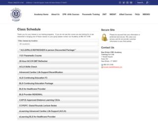 nbems.enrollware.com screenshot