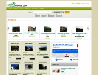 nbfhomes.com screenshot