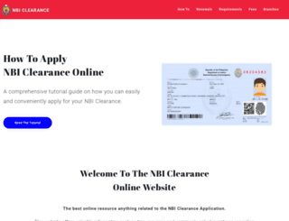nbiclearance.com screenshot