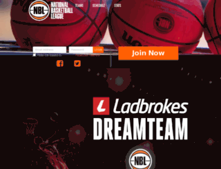 nbldreamteam.virtualsports.com.au screenshot
