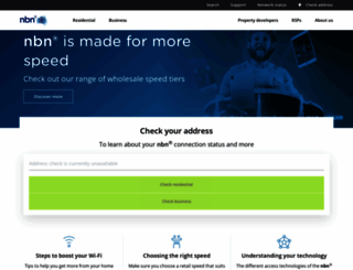 nbnco.net.au screenshot