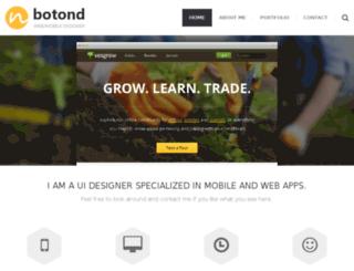 nbotond.com screenshot