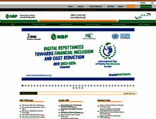 nbp.com.pk screenshot