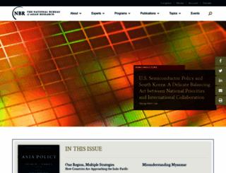 nbr.org screenshot