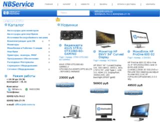 nbsony.ru screenshot