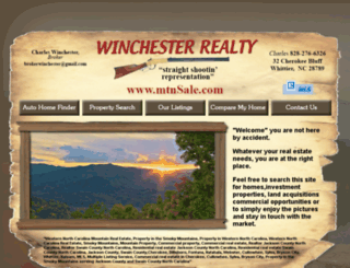 nc-mountainrealestate.com screenshot