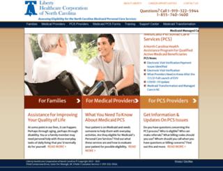 nc-pcs.com screenshot