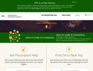 nc.pparx.org screenshot