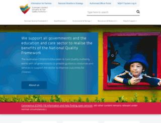 ncac.gov.au screenshot