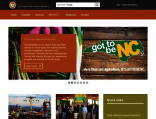 ncagr.com screenshot